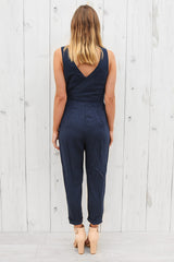 pascal jumpsuit in navy