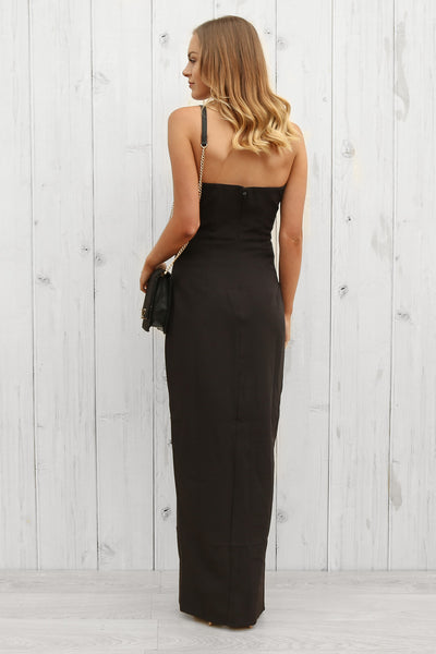 SALE- verity strapless dress by bariano