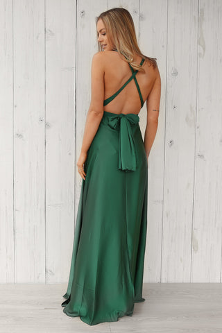 ebony multi-way maxi in green