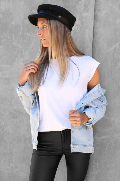 SALE - noosa oversized denim jacket