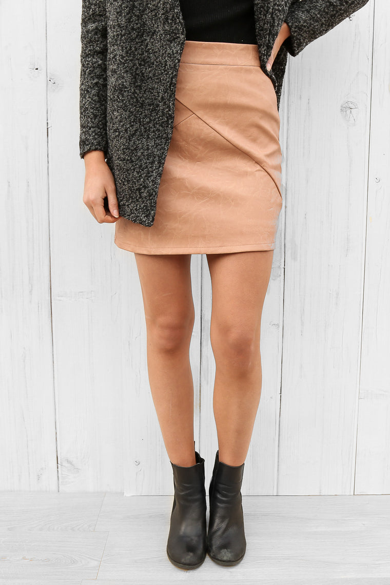 agrarian skirt in blush