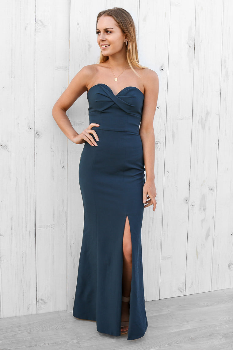Kate twist bodice maxi by bariano