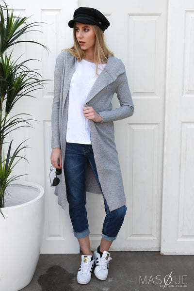 trixie cardi in grey