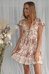 josie vintage floral dress