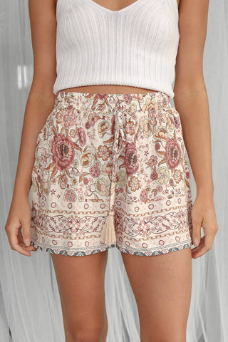 SALE - demi shorts in vintage floral