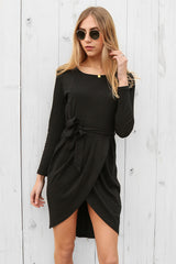 madrid dress in black