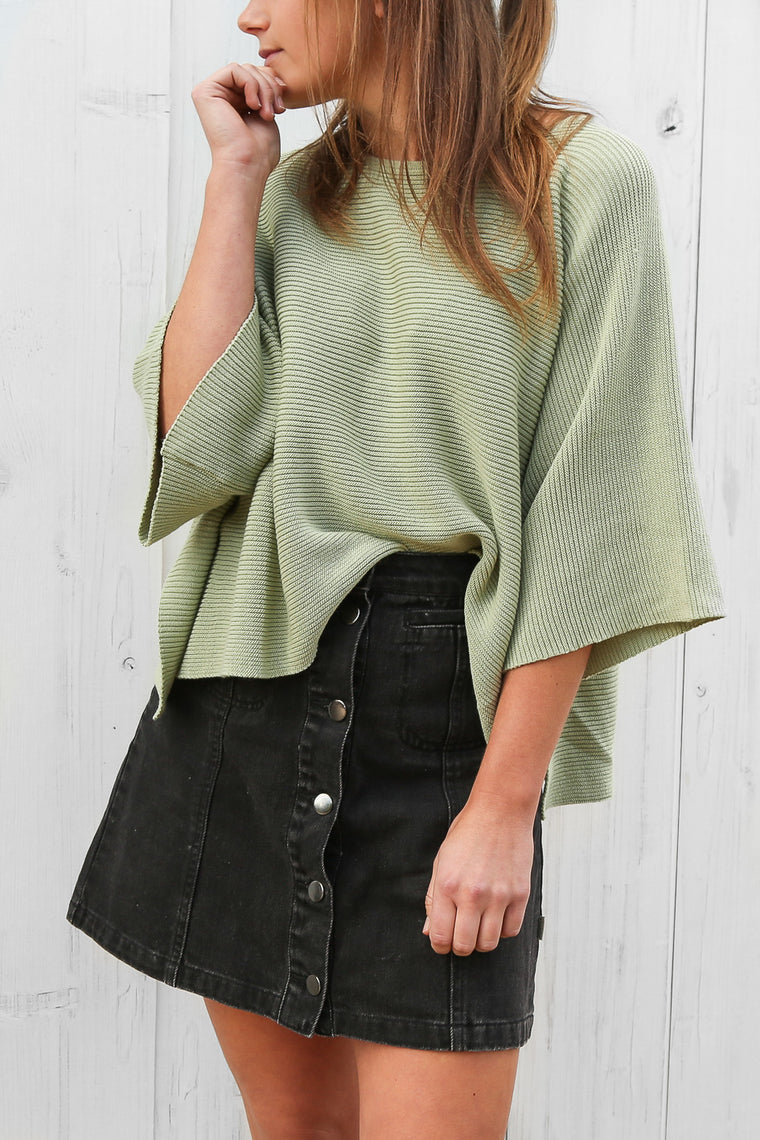 falcon jumper in mint