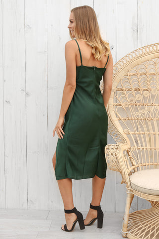 symphony dress in green