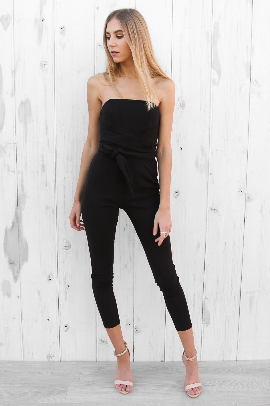 solo jumpsuit in black