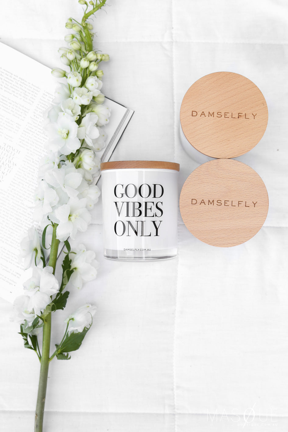 damselfly large candle