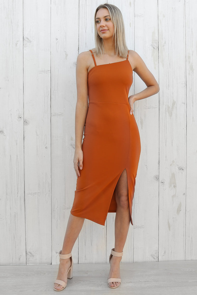 dreams dress in rust