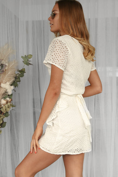 clara embroidered dress