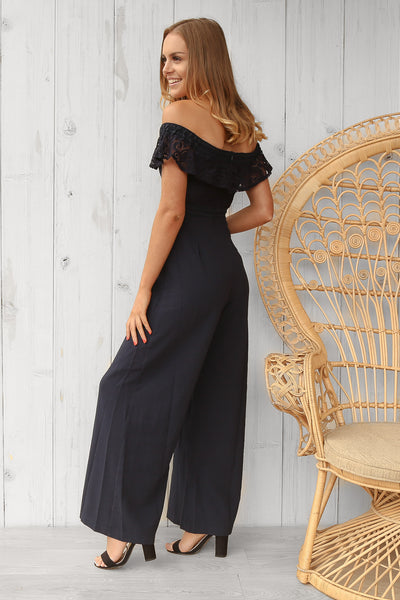 tallie jumpsuit in navy