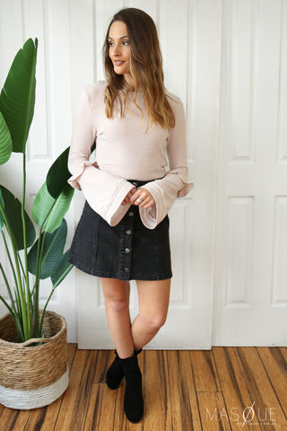 millie top in blush