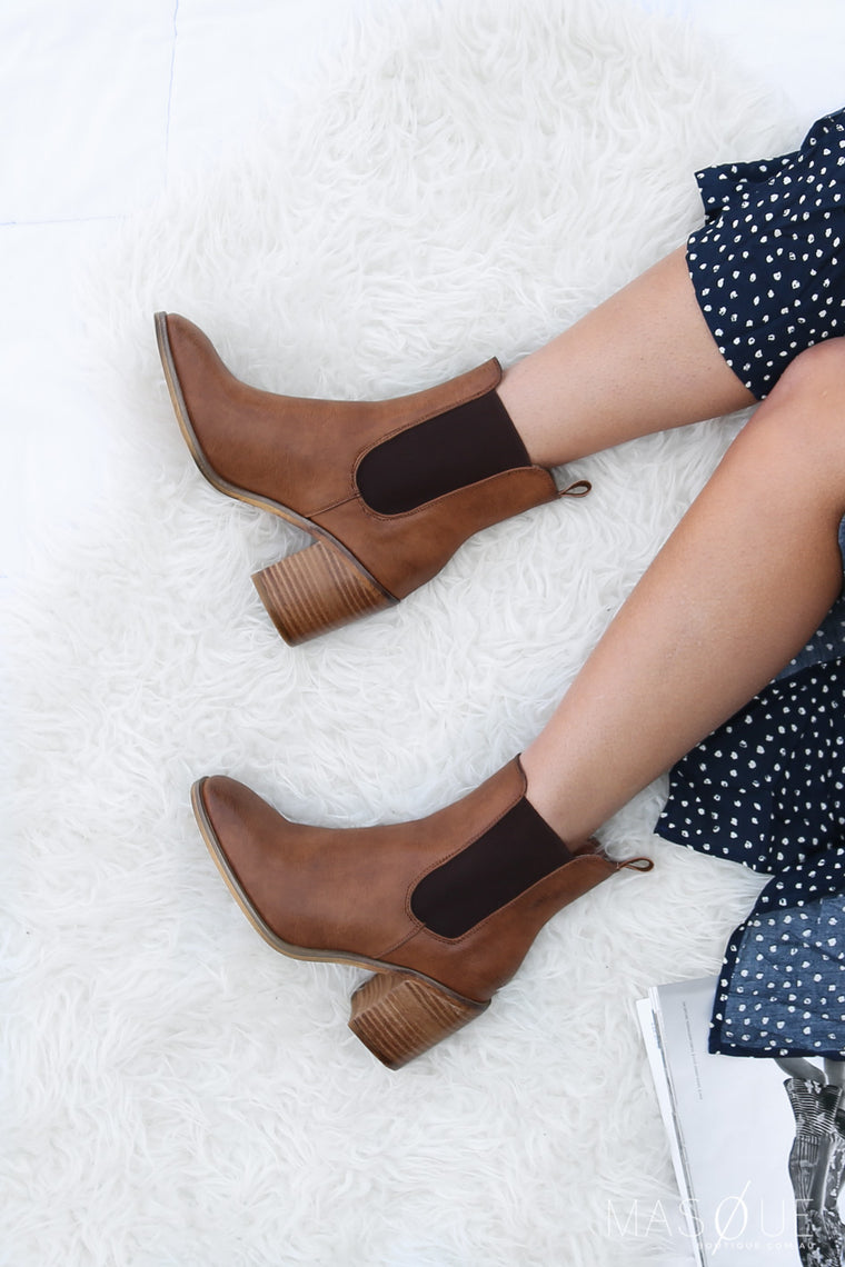 kansas boots in brown