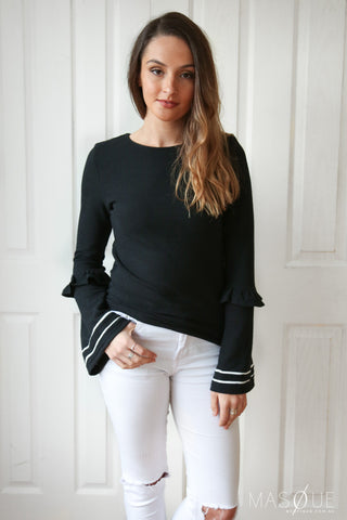 millie top in black