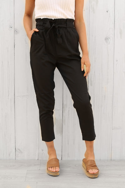 lane way pants in black
