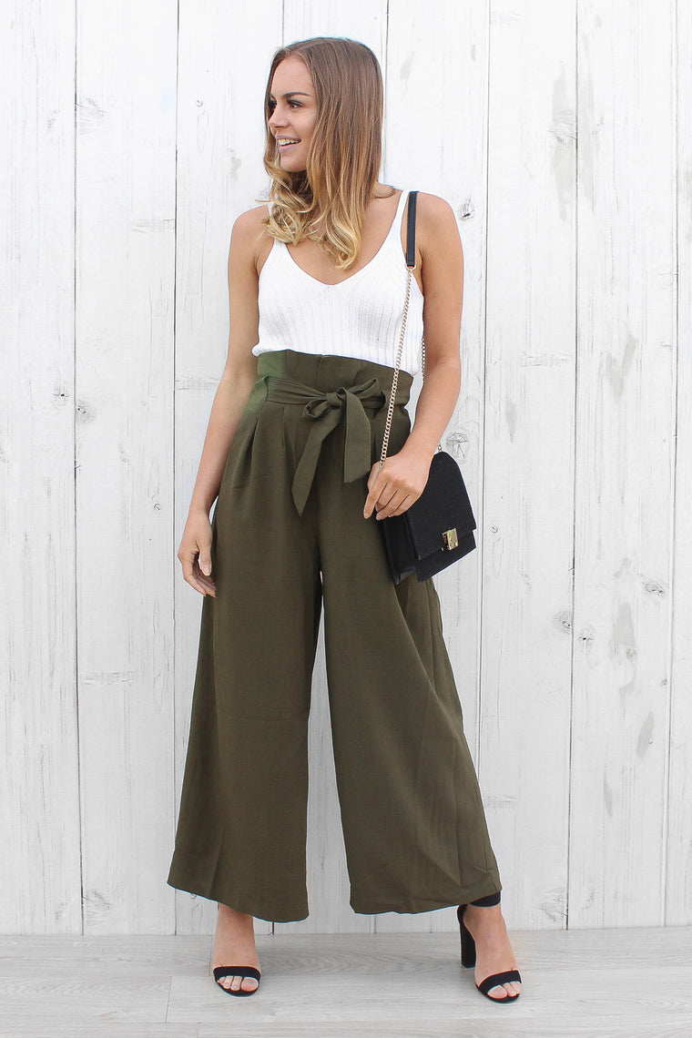 cheryl pants in khaki
