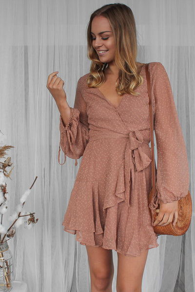 recognise dress in blush