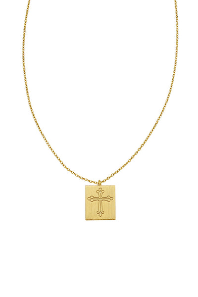 marian necklace in gold