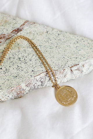 republique coin necklace