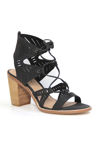 palomar sandals in black
