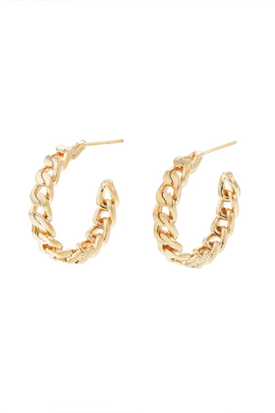 vicky chain hoops