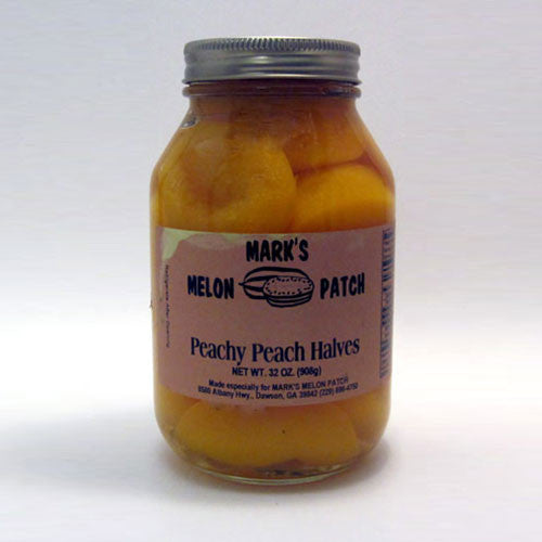 Peachy Peach Halves