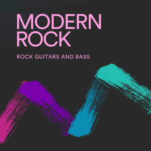 Modern Rock Guitars and Bass
