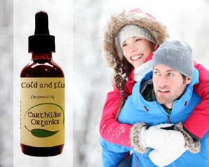cold and flu organic herbal tincture