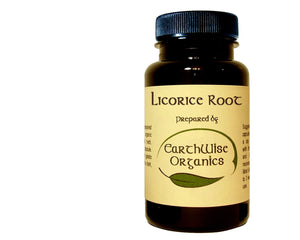 licorice root organic herbal capsules