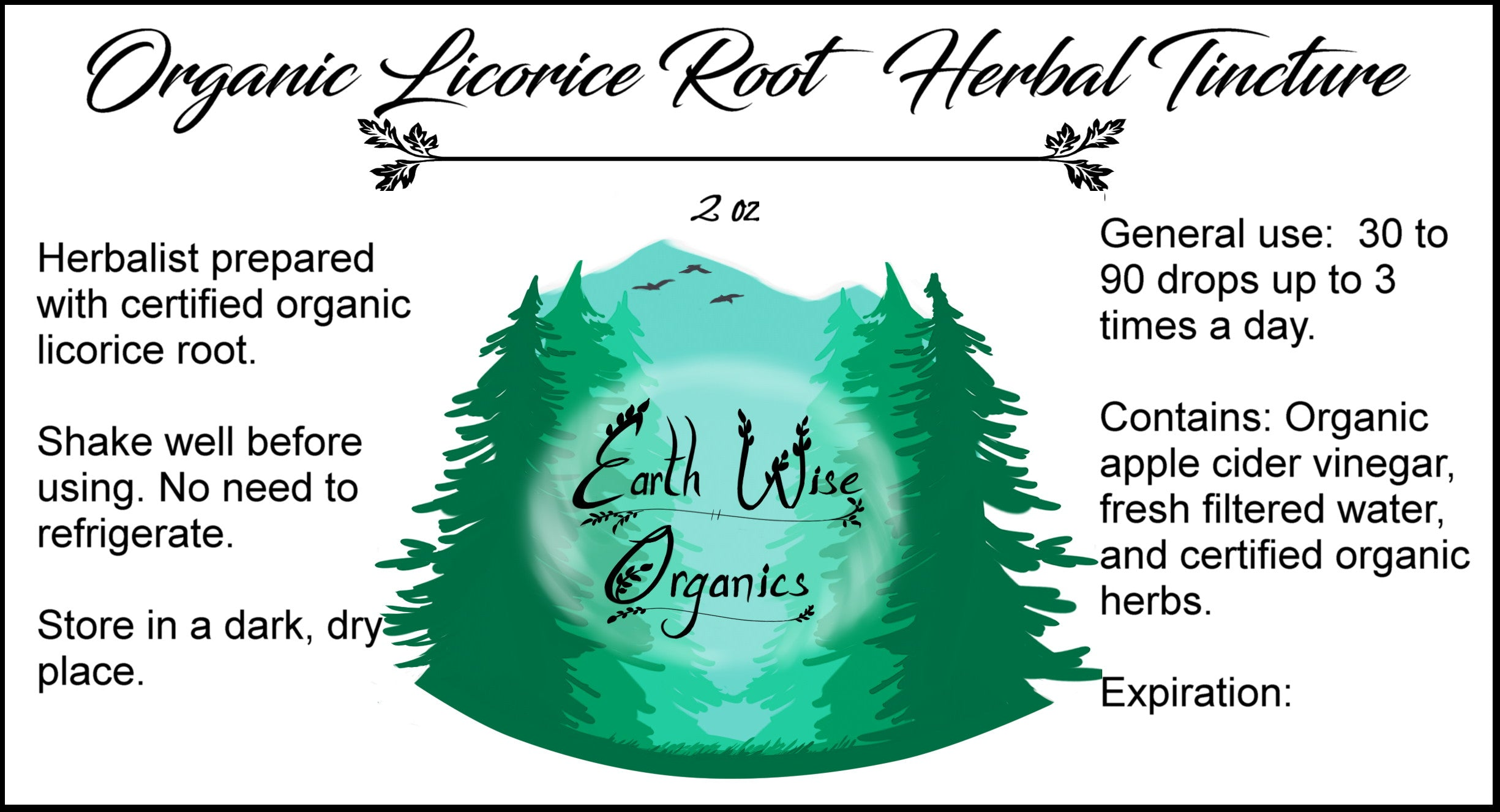 alcohol free licorice root tincture