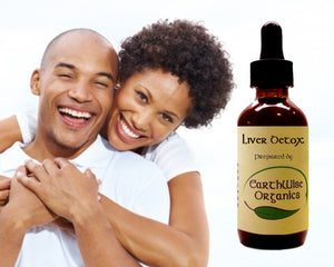 liver detox organic herbal tincture