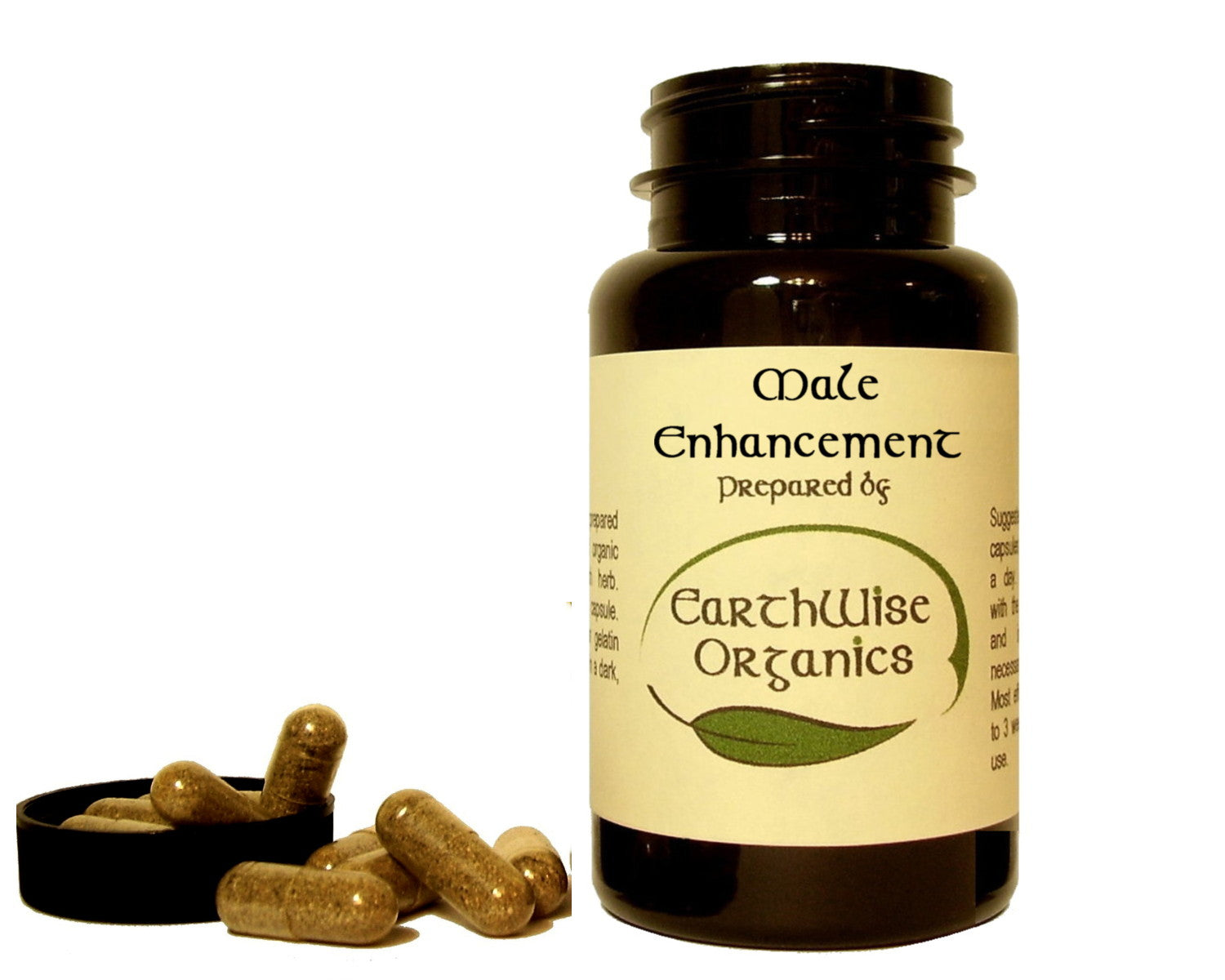 male enhancement organic herbal capsule