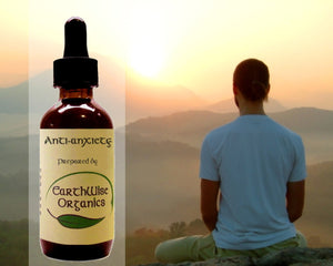 anxiety organic herbal tincture