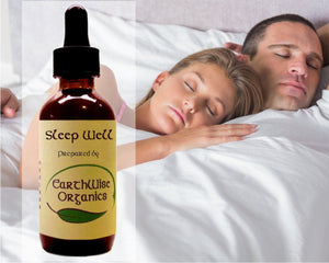 sleep well organic herbal tincture