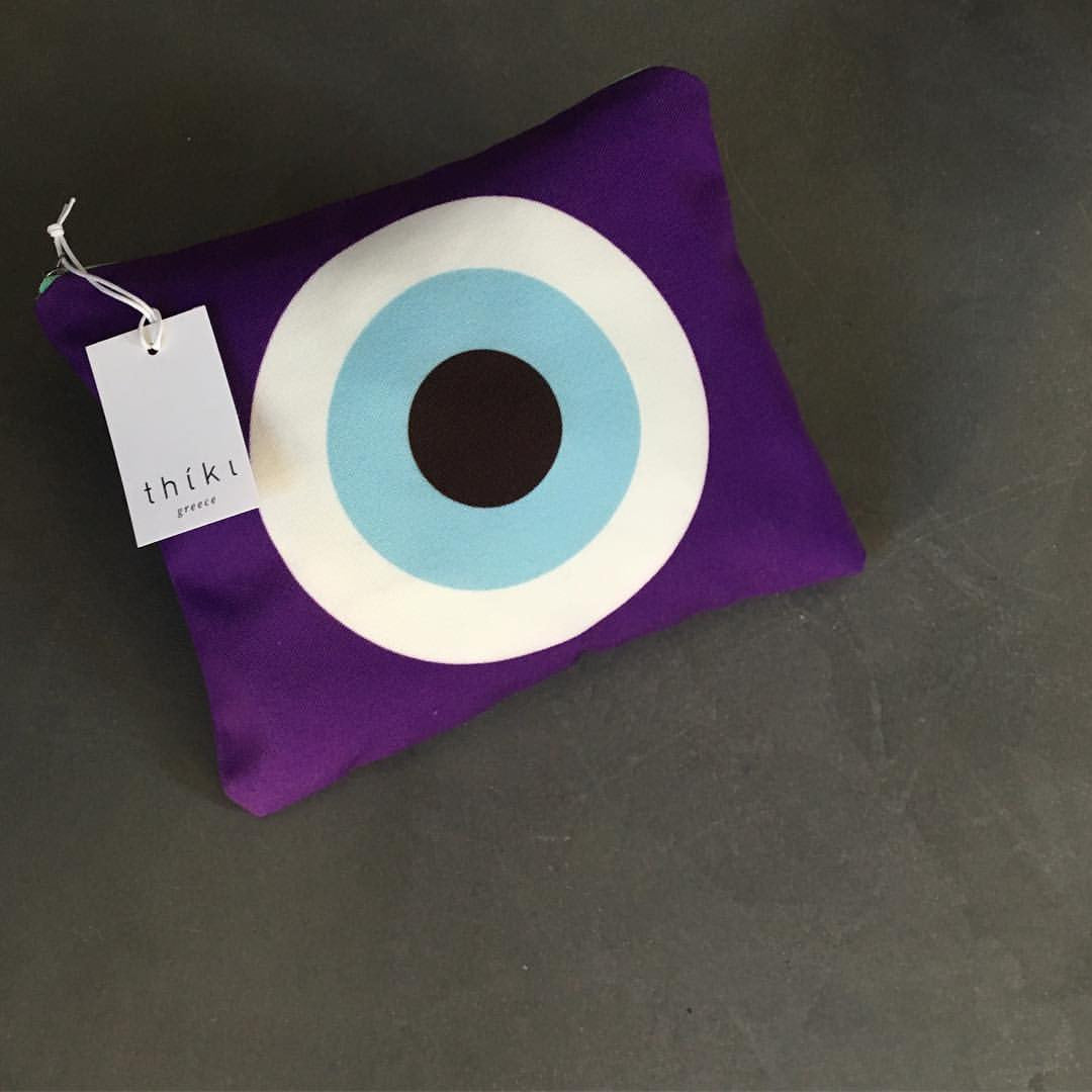 The Purple Evil Eye bag