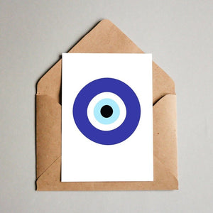 The Evil Eye Postcard