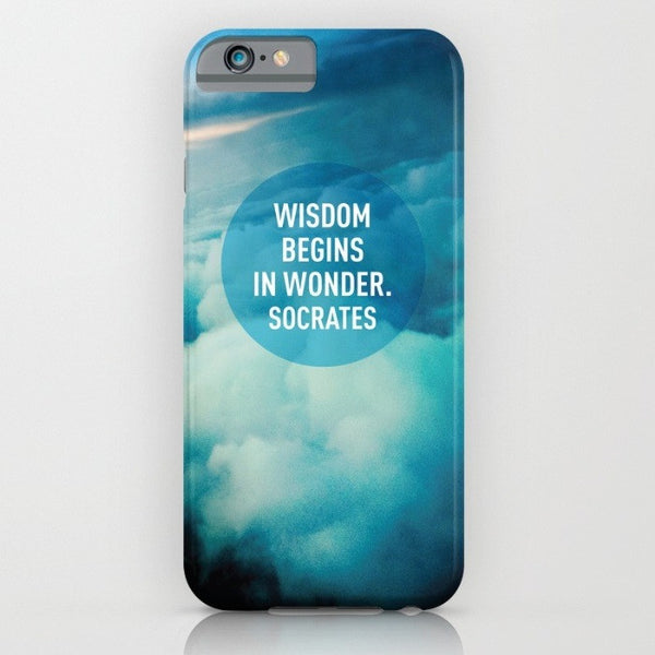 Wisdom phone case for iPhone 6/6s