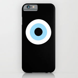Black Evil Eye phone case for iPhone 6/6s