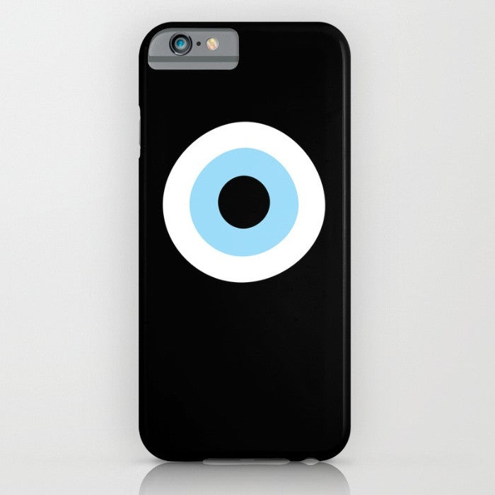 Black Evil Eye phone case for iPhone 7/8