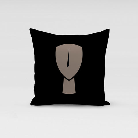 Cycladic Black Beige Pillow