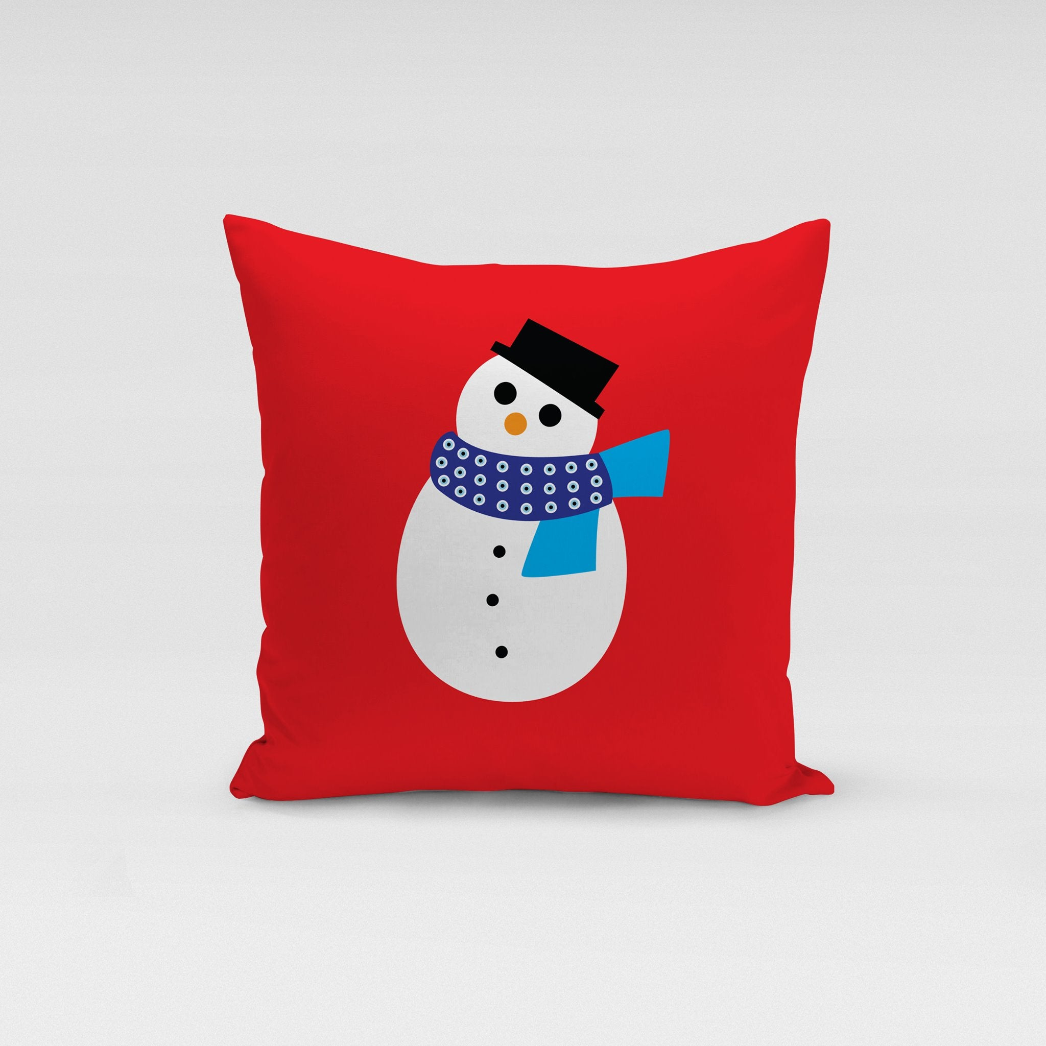 Christmas Snowman Pillow