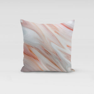 Pink Marble Pillow