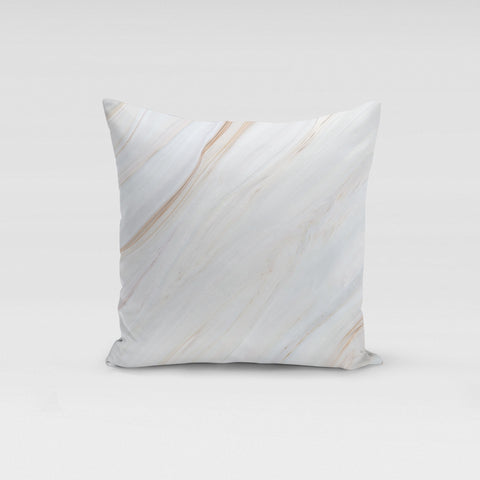 Cream Marble Pillow