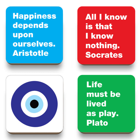Philosophy coasters