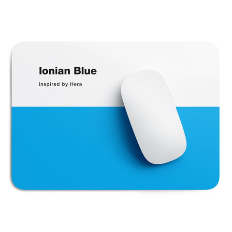 Ionian Blue mouse pad