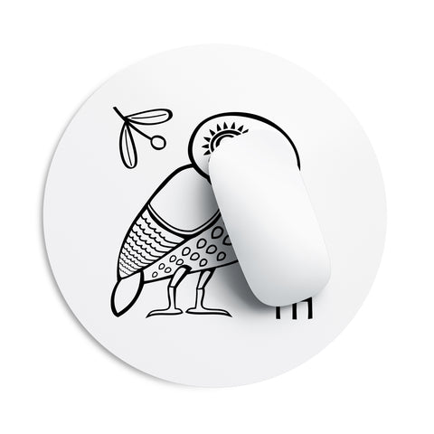 Athenian Owl mouse pad