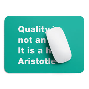 Quality Aristotle mouse pad