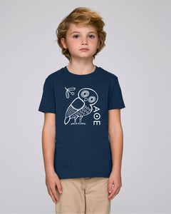 The Athenian Owl kids tshirt
